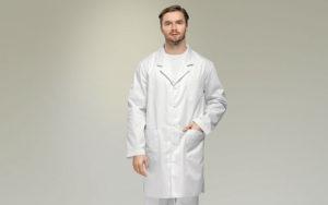 Выбираем мужской медицинский халат