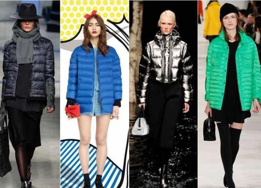 Выбираем модную куртку на осень