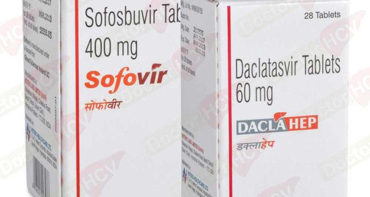 Sofovir и Daclahep при вирусном гепатите С
