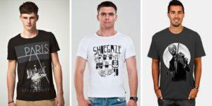 Выбираем футболку с модным принтом