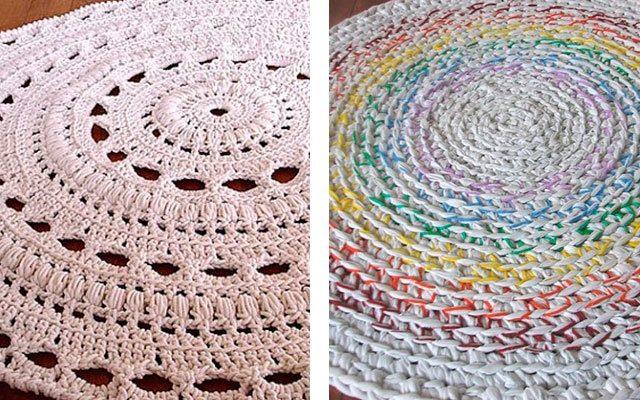 Как научиться вязать коврики крючком по схемам