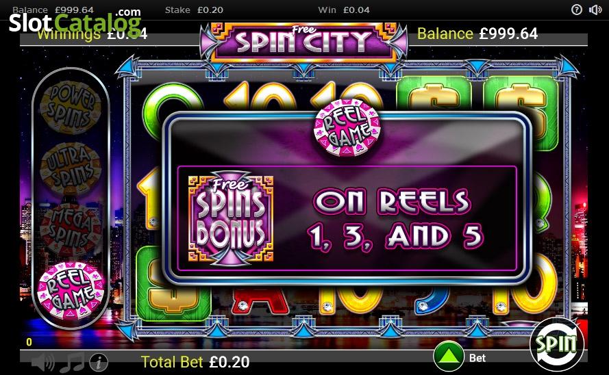 spin city казино